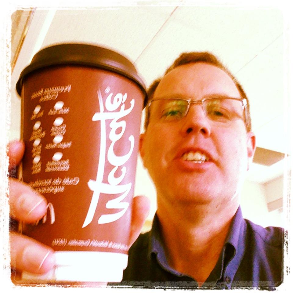 Elmsdale social media training coffee time