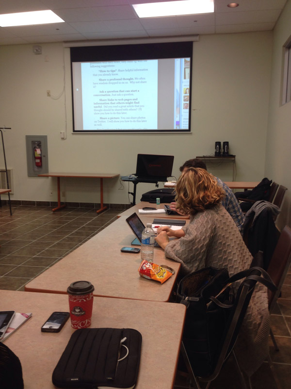 Halifax Bayers Lake social media training for business